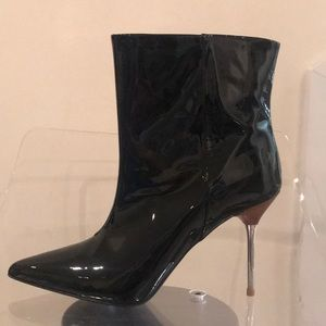 H&M Premium Collection Patent Leather boots